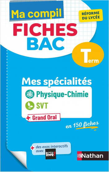 Ma Compil Fiches Bac - Physique-Chimie / SVT - Terminale
