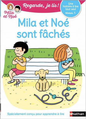 Une histoire à lire tout seul N1:Mila et Noé sont fâchés-EFL3