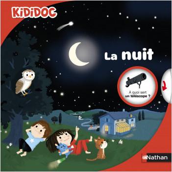 La nuit - Livre animé Kididoc dès 4 ans