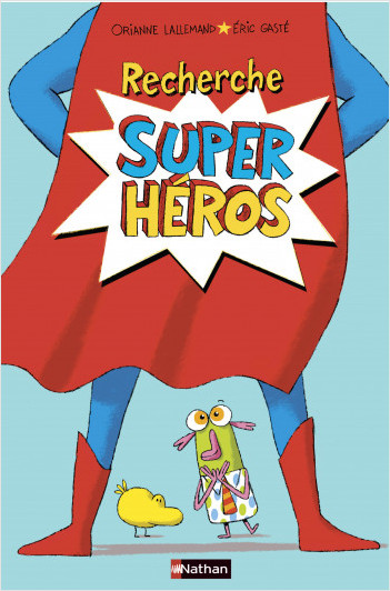 Recherche super héros  - Livre Pop-up - Dès 4 ans