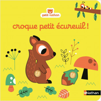 Croque petit écureuil ! - Livre puzzle à encastrement - Dès 6 mois