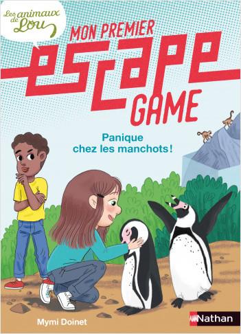 Mon premier escape game - Les animaux de Lou - Panique chez les manchots ! - Dès 6 ans