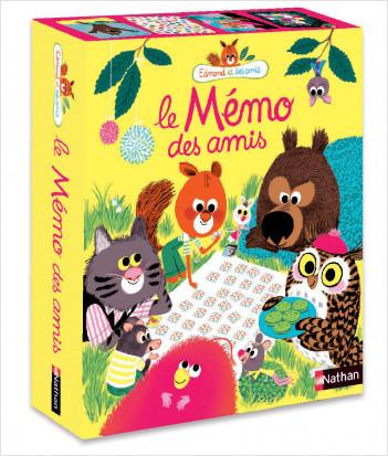 Edmond et ses amis - Le mémo des amis - jeu de cartes - Dès 4 ans