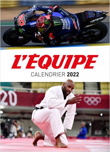 CALENDRIER L'EQUIPE 2022