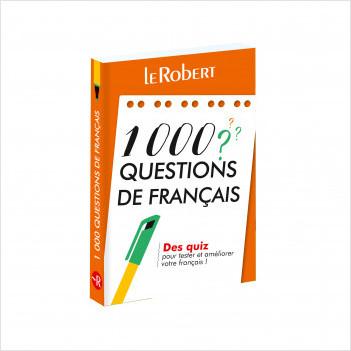 Mini-guide - 1000 questions de français - Des quiz pour tester et améliorer votre français