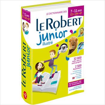 Dictionnaire Le Robert Junior illustré - 7/11 ans - CE-CM-6e - 2020