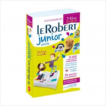 Dictionnaire Le Robert Junior Poche 2020 - 7/11 ans - CE-CM-6e