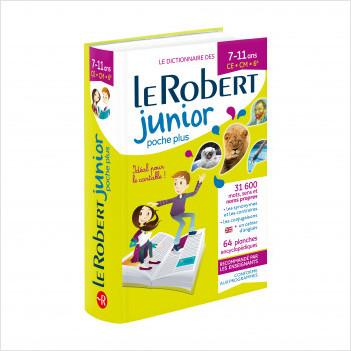 Dictionnaire Le Robert Junior Poche Plus 2020 - 7/11 ans - CE-CM-6e