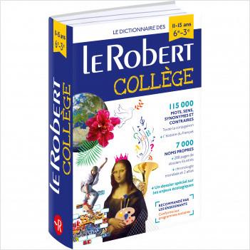Dictionnaire Le Robert Collège - 11/15 ans - 6e/5e/4e/3e