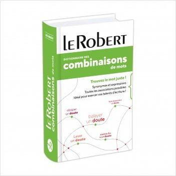 Dictionnaire des combinaisons de mots Poche Plus