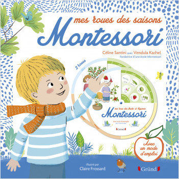 Mes roues des saisons Montessori – Pochette Jeux avec 2 roues à assembler et 1 livret – À partir de 5 ans