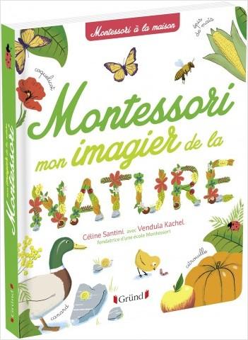 Mon imagier de la nature Montessori – Album documentaire Montessori avec plus de 150 mots – À partir de 3 ans
