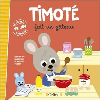 Timoté fait un gâteau