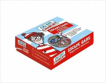 Où est Charlie ? Escape game : Disparition à Hollywood – Escape game enfant de 2 à 5 joueurs avec 40 cartes, 1 livret et 1 poster – À partir de 7 ans