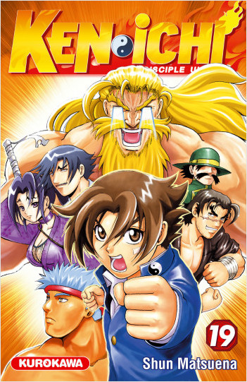 Ken-ichi - saison 1, Le Disciple ultime - tome 19