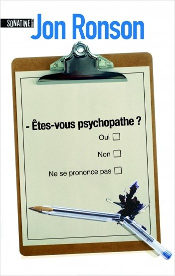 Etes-vous psychopathe ?