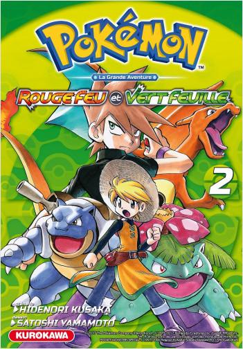 Pokémon - Rouge Feu et Vert Feuille / Émeraude - tome 02