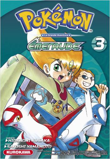 Pokémon - Rouge Feu et Vert Feuille / Émeraude - tome 03