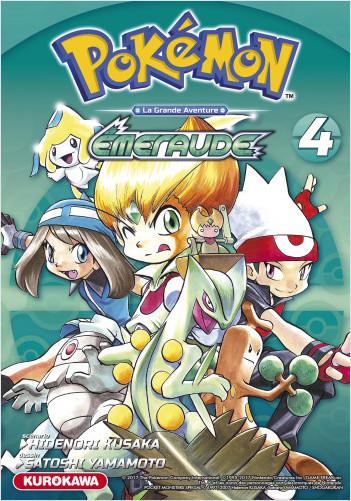 Pokémon - Rouge Feu et Vert Feuille / Émeraude - tome 04