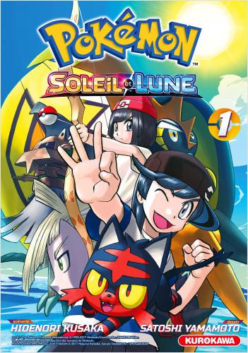 Pokémon - Soleil - Lune - tome 01
