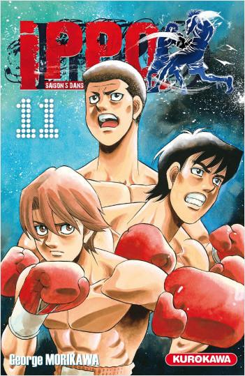 Ippo - saison 5, Dans l'ombre du champion - tome 11