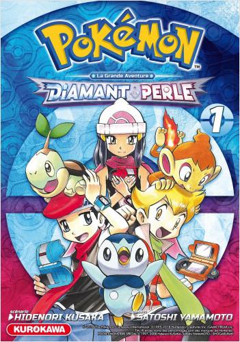 Pokémon - Diamant et Perle / Platine - tome 01