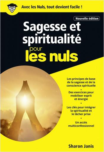 Sagesse et spiritualité pour les Nuls, poche, nouvelle édition