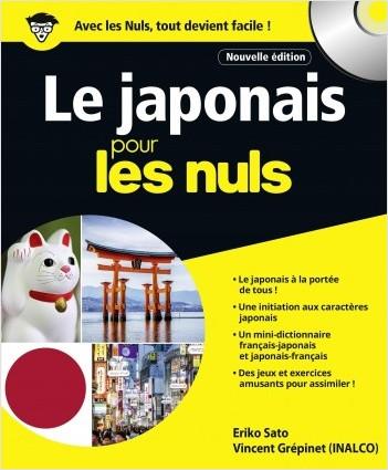 Le japonais pour les Nuls grand format, 2e édition