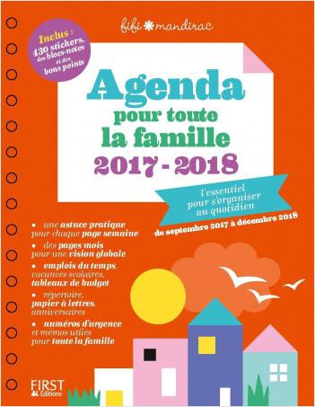 Agenda pour toute la famille 2017/2018