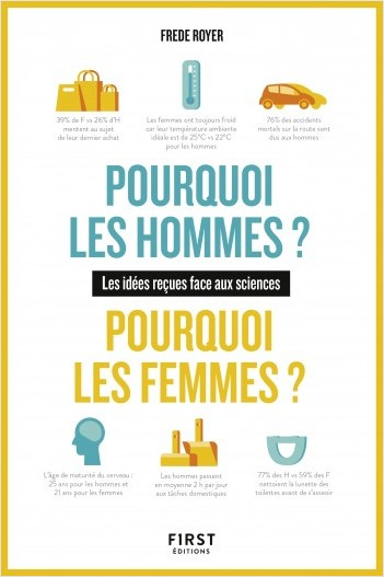 Pourquoi les hommes ? Pourquoi les femmes ? Les idées reçues face aux sciences