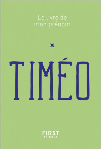 Le Livre de mon prénom - Timéo 65