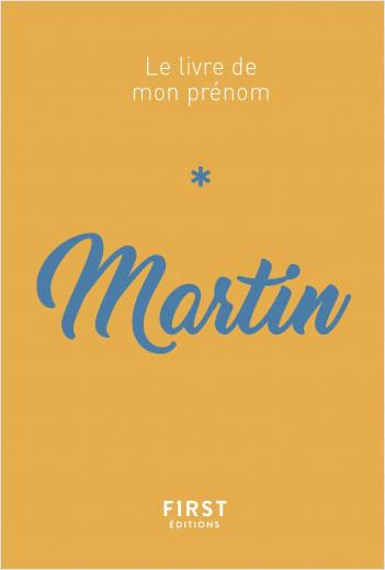 Le livre de mon prénom - Martin 73