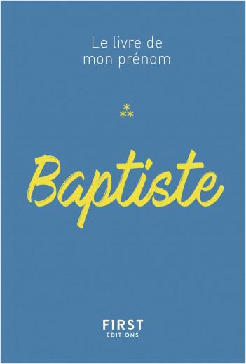 76 Le livre de mon prénom - Baptiste