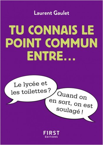 Tu connais le point commun entre?