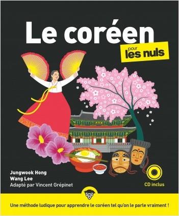 Le coréen pour les Nuls, grand format + CD, 2e éd.