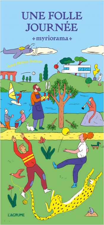 Une folle journée - Livre Jeu - Puzzle - Histoires à inventer - Dès 4 ans