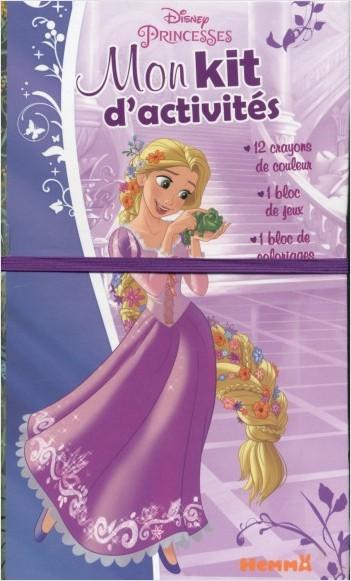 Disney Princesses - Mon kit d'activités