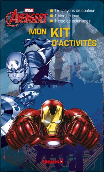 Marvel - Avengers - Mon kit d'activités