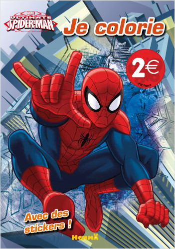 Marvel - Ultimate Spider-Man - Je colorie
