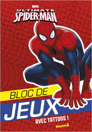 Marvel - Ultimate Spider-Man - Bloc de jeux avec tattoos
