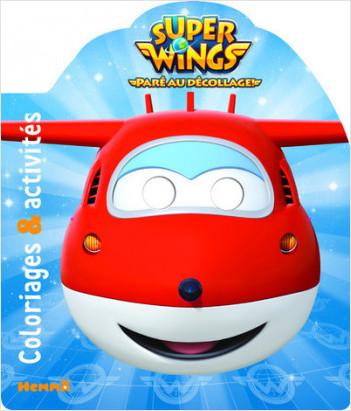Super Wings - Coloriages & activités (Jett)