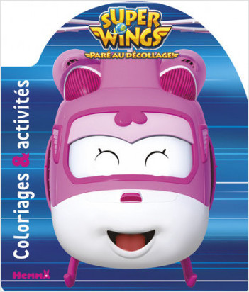 Super Wings - Coloriages & activités (Dizzie)