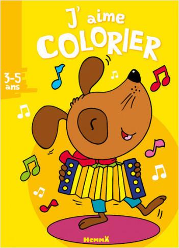 J'aime colorier (3-5 ans)