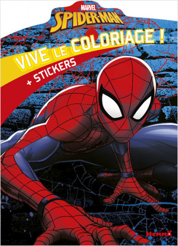 Marvel Spider-Man - Vive le coloriage !