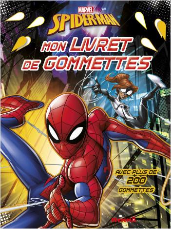 Marvel Spider-Man - Mon livret de gommettes