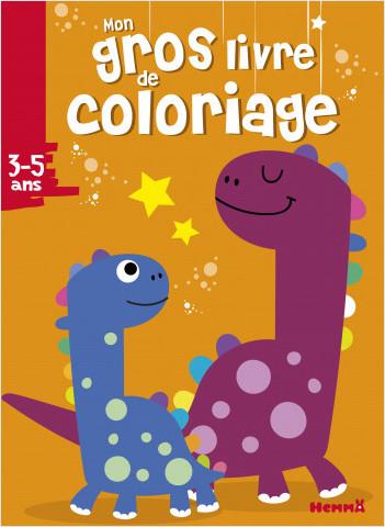 Mon gros livre de coloriage (Dinosaures)