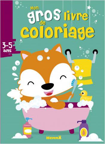 Mon gros livre de coloriage (Renard)