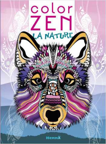 Color Zen - La nature (Loup)
