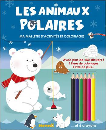 Ma mallette d'activités et coloriages - Les animaux polaires