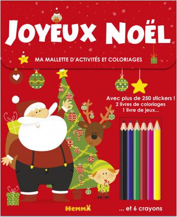 Ma mallette d'activités et coloriages - Joyeux Noël